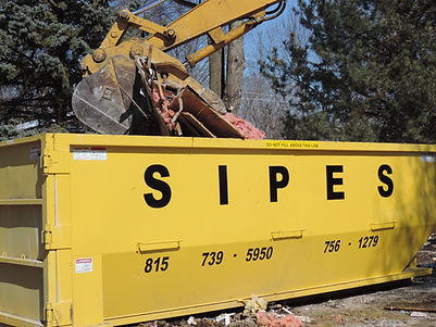 Dumpster, Roll-Off, Sipes