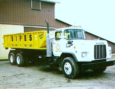 Roll-Off, Dumpster, Sipes