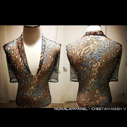 The Cheetah Blue Mesh