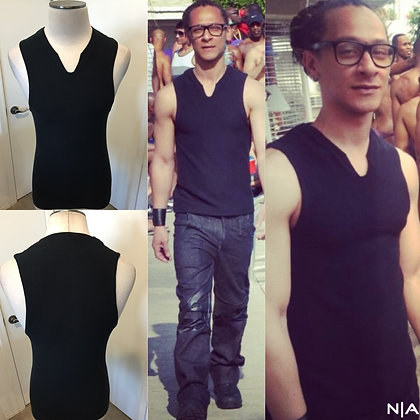 The NoRal Apparel Notched Sleeveless