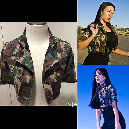 The NoRal Apparel Mod Camo Jacket