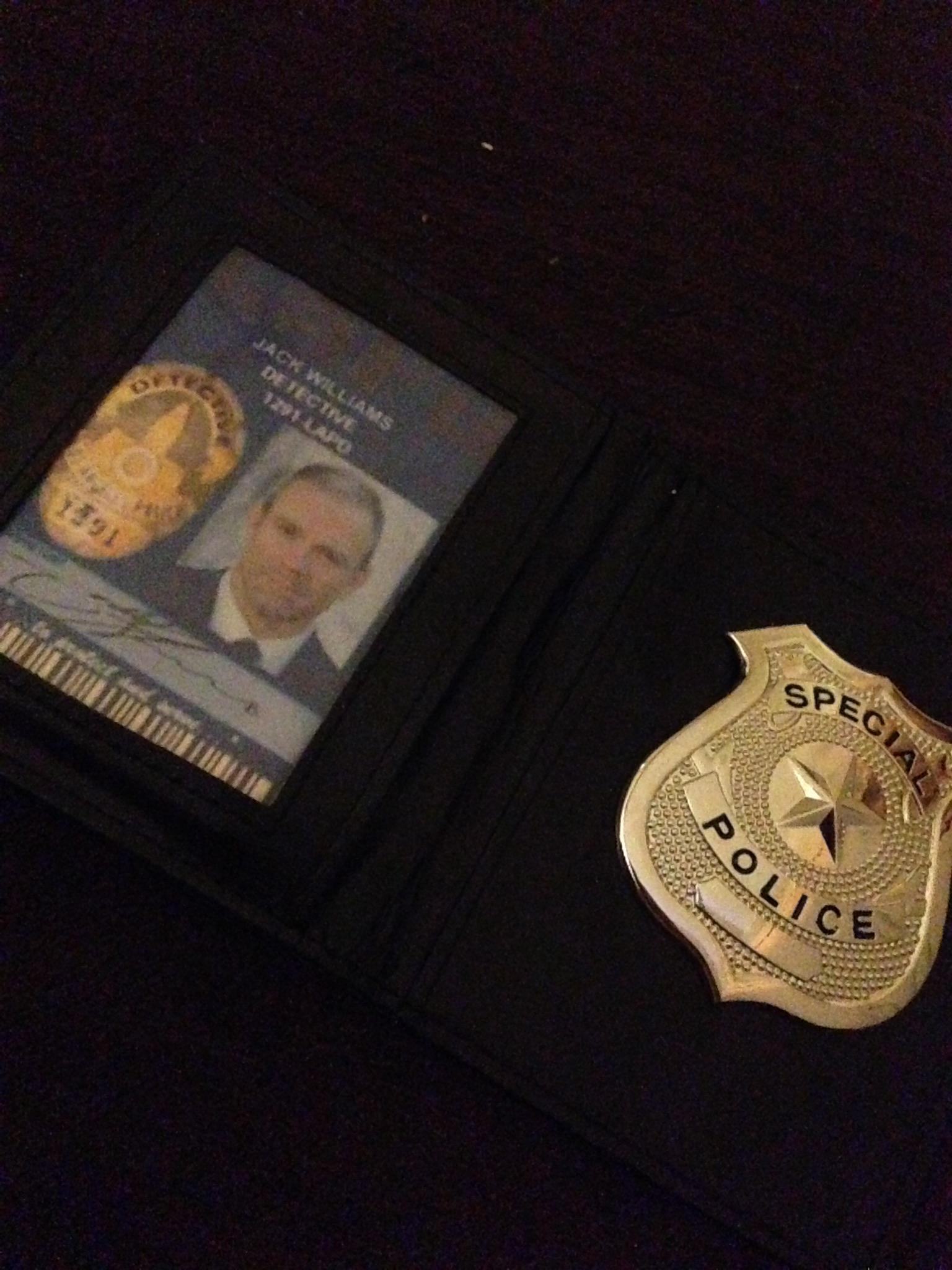 PROPS: Detective Williams