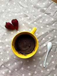 Mugcake vegana al cacao