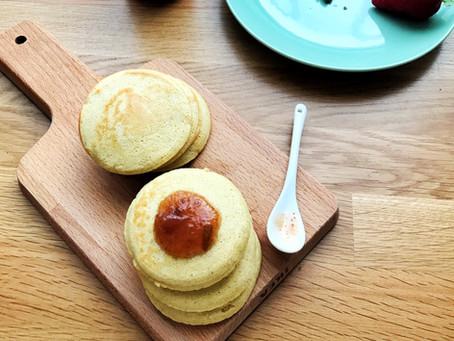 Pancakes avena e mandorle