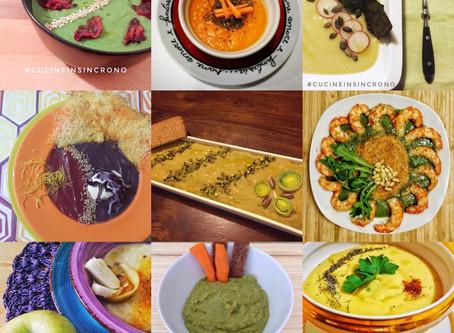 Vellutata di Broccoli e Chips di Barbabietola