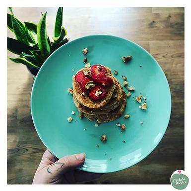 Pancakes proteici vegan