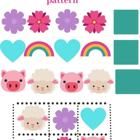 Toddler Spring Patterns