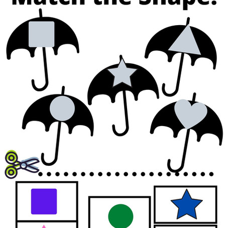 Raining Shapes