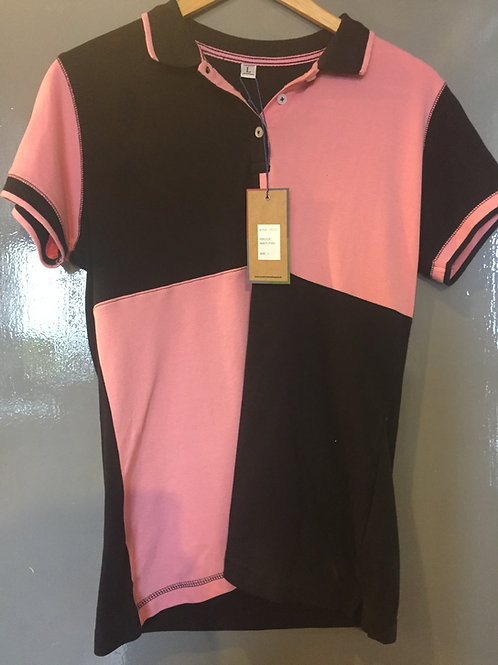 Front Row Chequered Polo