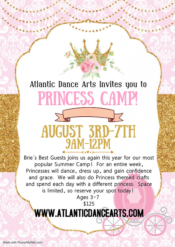 Princess Camp - Made with PosterMyWall (