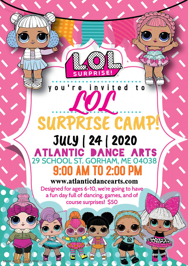Copy of LOL Surprise Doll Invite - Made