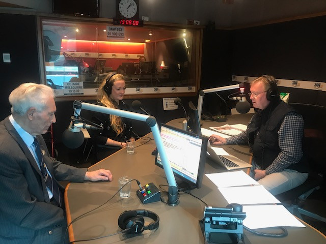 THE SILENT GENERATION talks to Denis Walter on 3AW