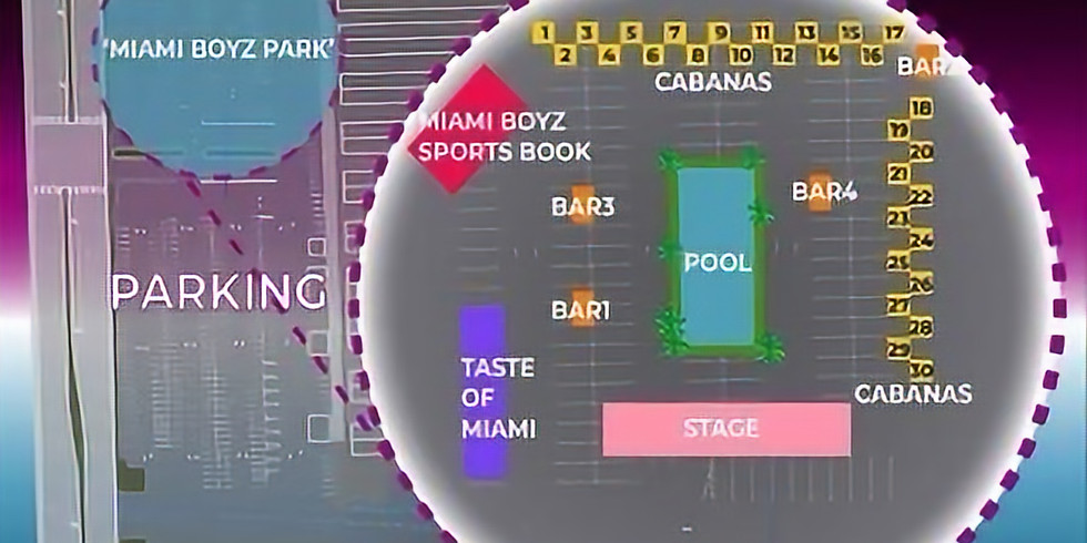 Miami Boyz Pool Party