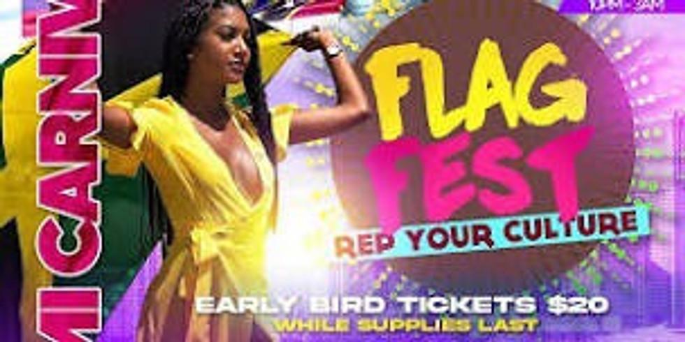 "Flag Fest "" Rep your culture""  Miami Carnival"