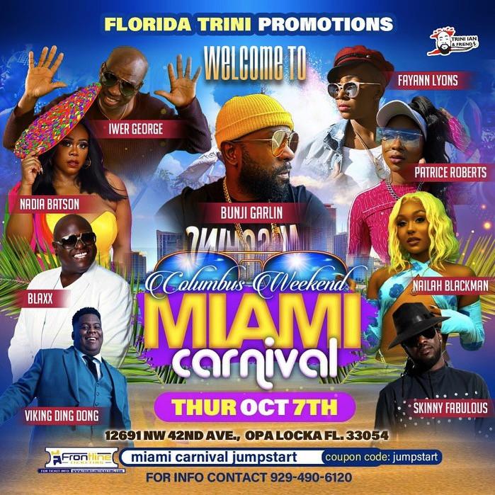 Miami Carnival Jump Start