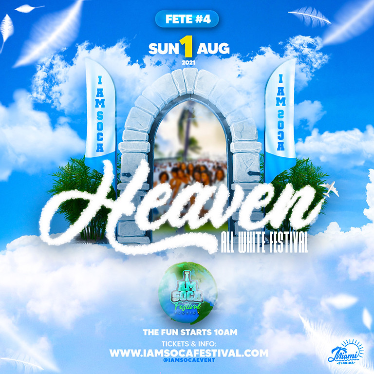 HEAVEN ALL WHITE FESTIVAL 2021