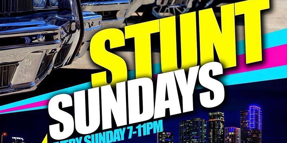 Stunt Sunday Car Exhibition