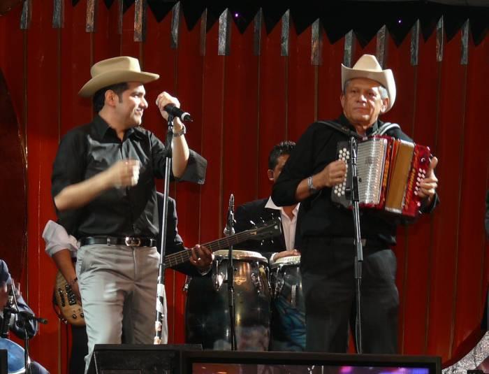 Peter Manjarrés y Emilianito Zuleta. Foto Cortesía,