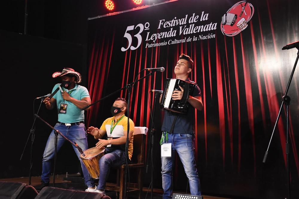 Así comenzó el Festival de la Leyenda Vallenata, de manera virtual. Foto Cortesía