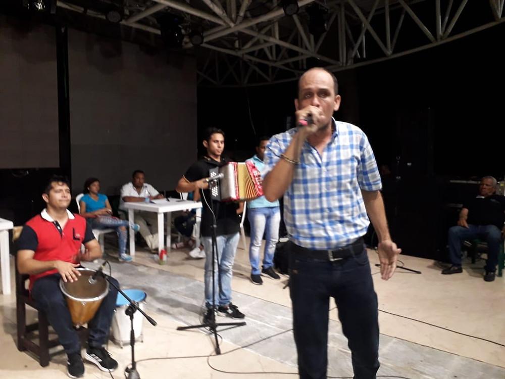 Octavio Daza Gamez es el rey de la canción inédita costumbrista. Cortesía Festival.