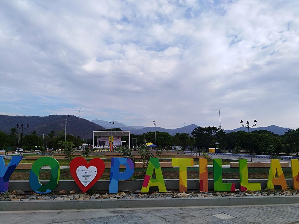 Panorámica de la Plaza de Patillal. Foto Mariaruth Mosquera.