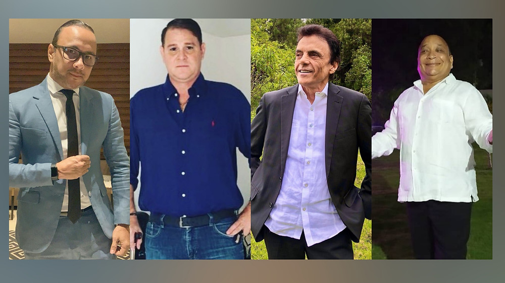 Wilfran Castillo, Richard Daza, Gustavo Gutiérrez y Franklin Moya serán los homenajeados. Foto Cortesía.
