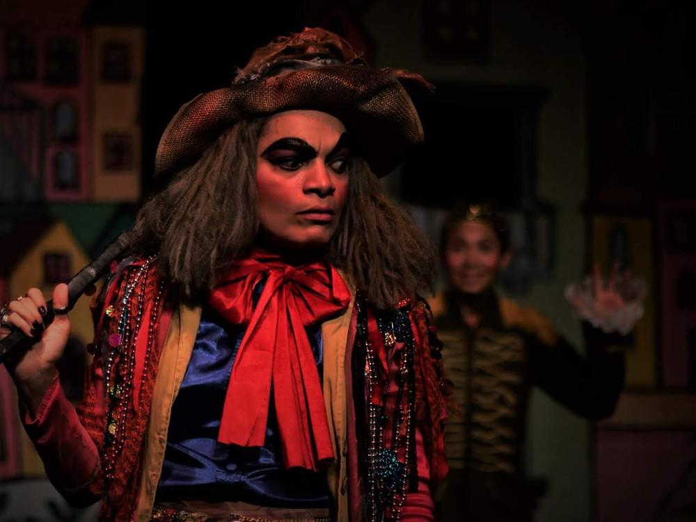 Escenas de La bruja Gallito. Foto Cortesía