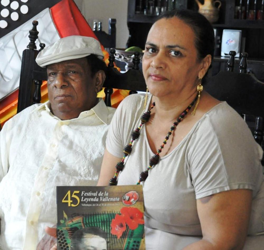Calixto Ochoa y Dulzaide Bermúdez, una unión que perduró por 25 años. Foto Cortesía,