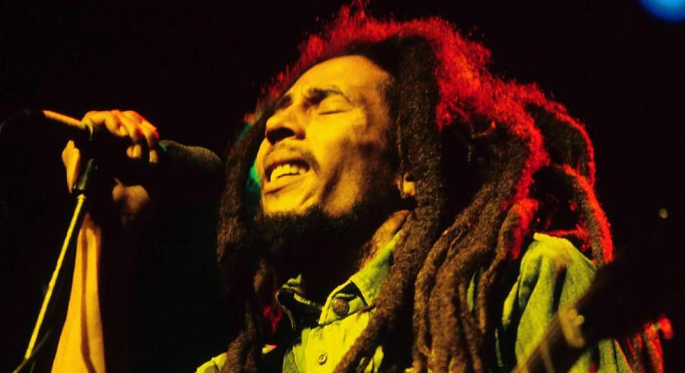 Bob Marley, icónico artista jamaiquino.