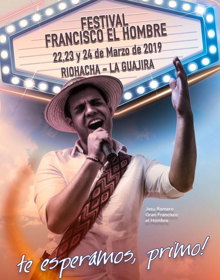 Afiche del Festival Francisco el Hombre.