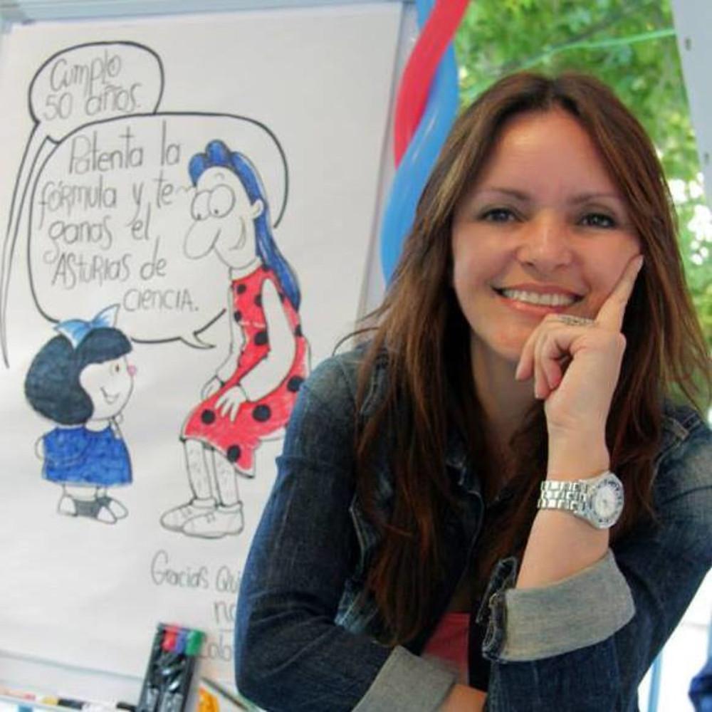 Nani Mosquera, caricaturista. Imagen suministrada de archivo