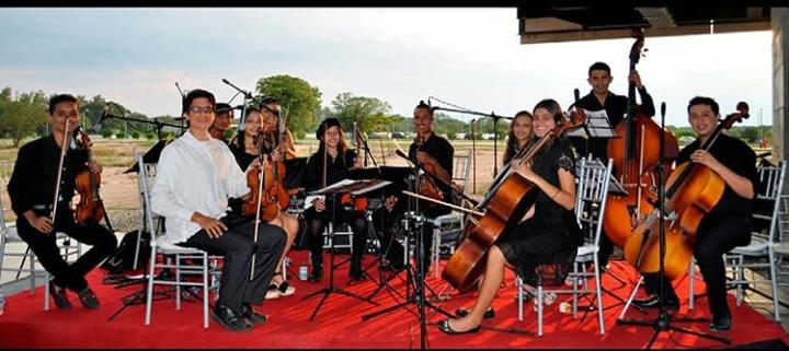 Imagen de archivo de La Orquesta Filarmónica del Cesar.