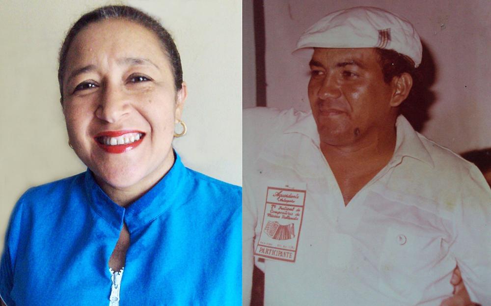María Esther y José Hernández - Musa y compositor. Foto Cortesía.