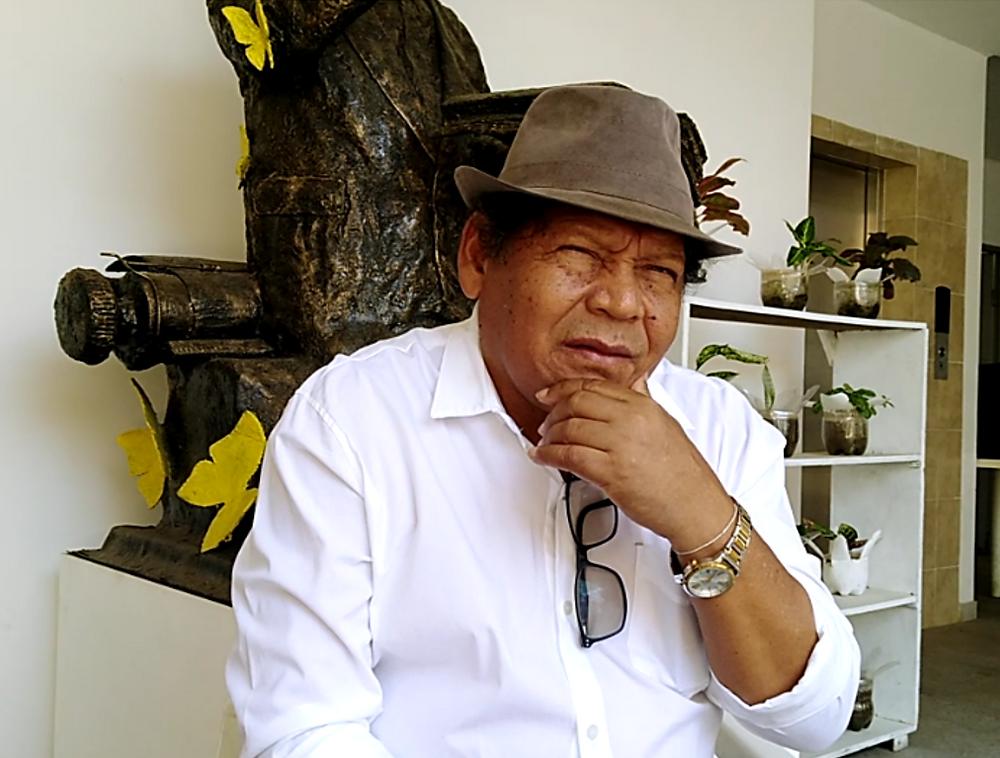 Rosendo Romero - 'El Poeta de Villanueva'. Foto Mariaruth Mosquera