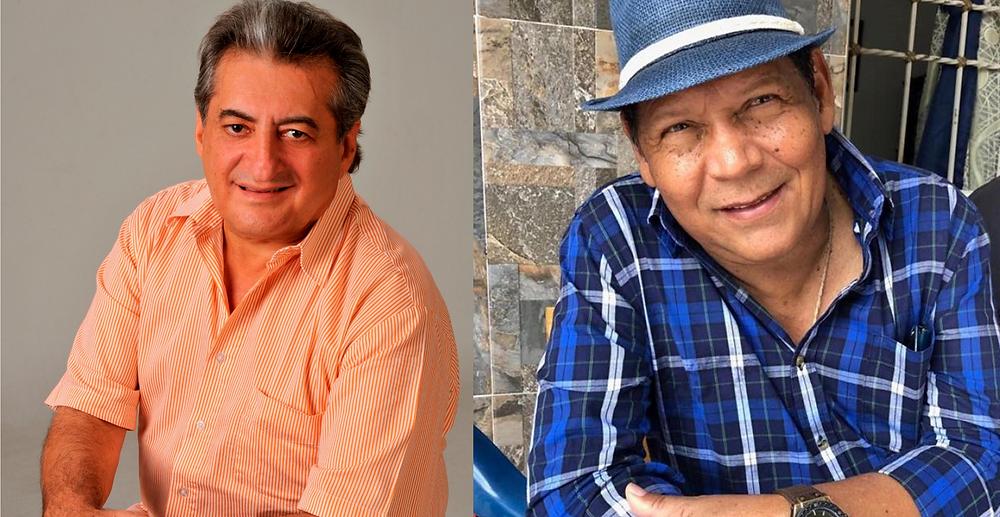 Jorge Oñate y Rosendo Romero. Foto Cortesía.