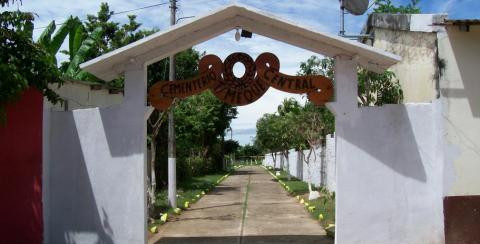 Imagen de referencia, cementerio de Tamalameque.
