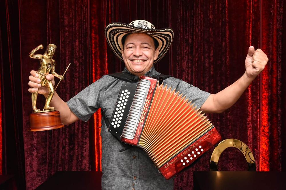 Manuel Vega, rey vallenato 2020. Foto Cortesía.