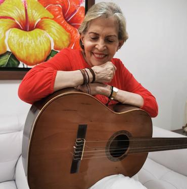 Aquella 'Sombra perdida' que se dibujó en el corazón de Rita Fernández Padilla