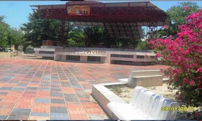 Plaza principal de Barrancas