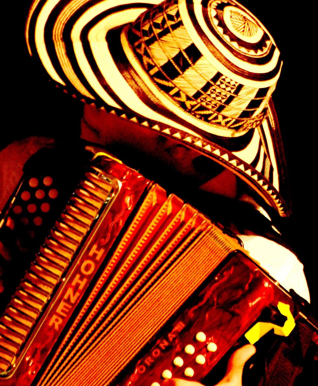 Acordeonero en plena competencia. Foto Cortesía Fundación Festival de la Leyenda Vallenata.