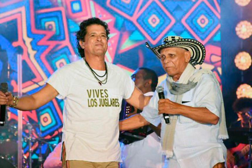 Carlos Vives y Adolfo Pacheco Anillo