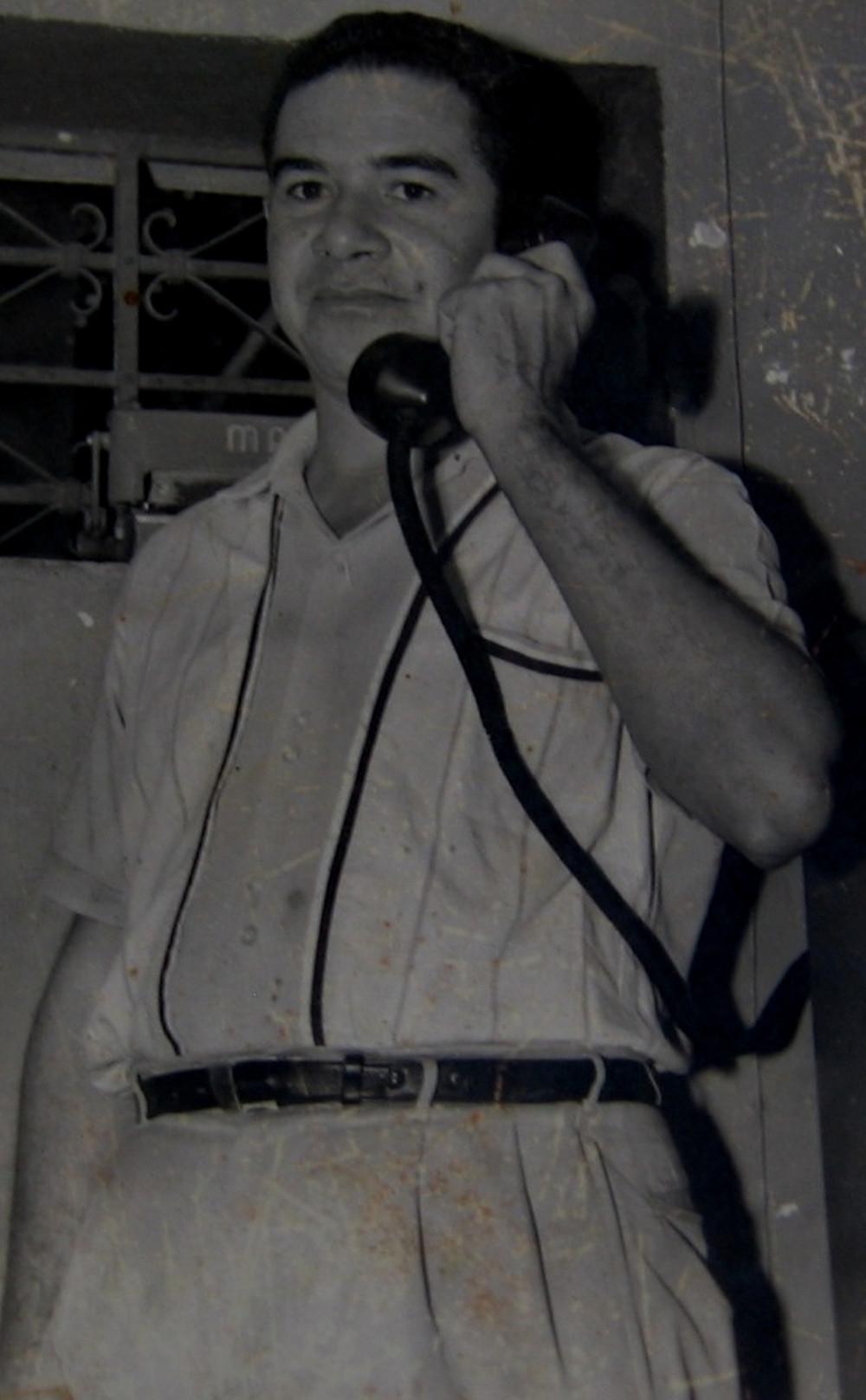 Jaime Molina Maestre, el pintor de Patillal. Foto Cortesía.