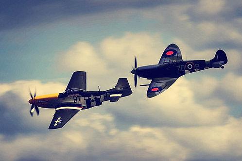 Quadro P-51 Spitfire