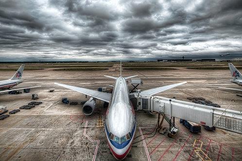 Quadro American Airlines 40x60cm