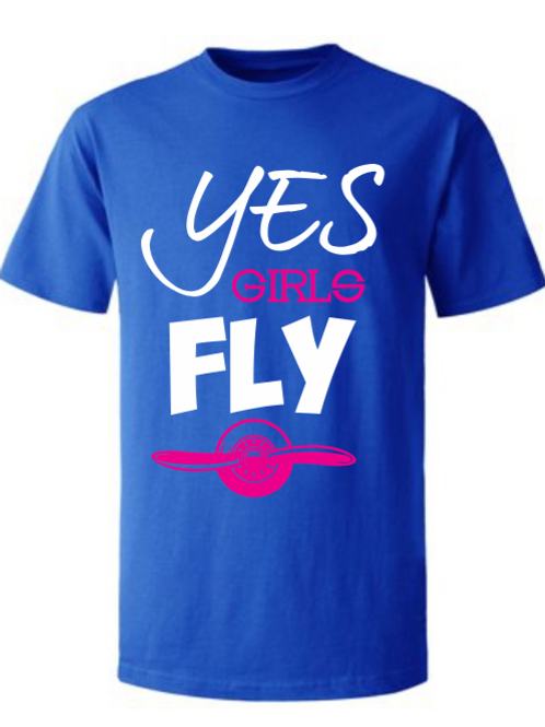 Camisa Yes Girls Fly