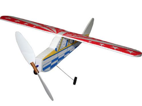 Avião de brinquedo em isopor Peninha