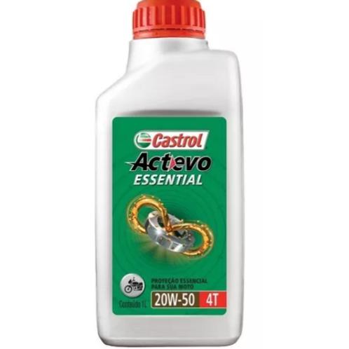Óleo Castrol Actevo 20W50 Sintético para ROTAX 912