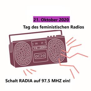 Radia verbindet feministische Kämpfe und Radios!!
