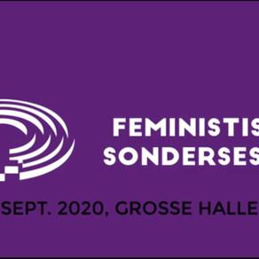 Radia Live: Freitag 11.9 um 18:00 von der Feministische Sondersession!