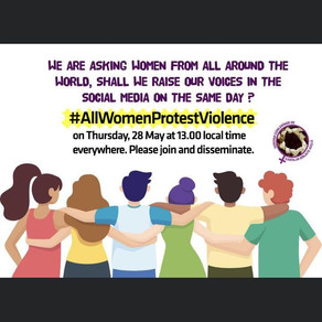All Women Protest Violence
